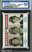 1979 Topps #704 Baumgarten Colbern Squires White Sox Prospects ISA 10 GEM MINT