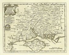 repro old map of Thomas Kitchin 20x16ins 58x41cm Kent 1786