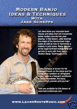 Modern Banjo Ideas & Techniques Jake Schepps New Dvd