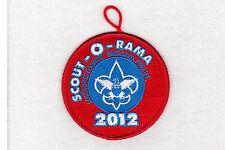 BSA mint 2012 Los Padres Council Scout-O-Rama event patch w/loop Cub Boy Venture