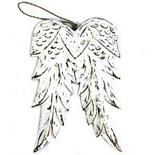 Wooden Angel Wings 31cm Double Winged