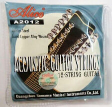 12-String Guitar Strings Set Coated Copper  Alloy Wound A2012
