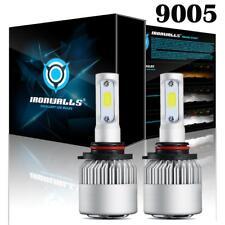 2x9005 HB3 1300W 195000LM LED Headlight Beam Light Kit 6000K 9145 Fog Bulb White