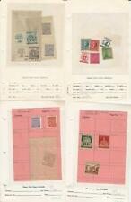 Germany Stamp Collection, Area Lot, Thuringen, Baden, Bavaria ++ DKZ