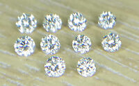 1-1.1mm 0.06cts 10pc I1 Clarity I-J Color Natural Loose Brilliant Cut Diamond