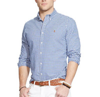 Polo Ralph Lauren Slim Fit Custom Fit Men's Shirt Logo | New collection