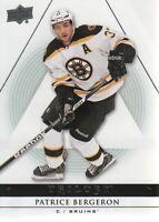 2013-14 Upper Deck Trilogy Hockey #9 Patrice Bergeron Boston Bruins