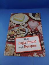 BORDEN'S EAGLE BRAND MAGIC RECIPES COOKBOOK 1946 SWEETENED CONDENSED MILK