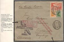URUGUAY 1932 8th GRAF ZEPPELIN FLIGHT SOUTHAMERICA COVER TO GERMANY