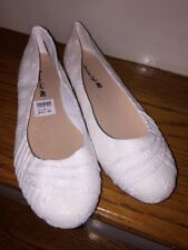 AMERICAN EAGLE Womens Lace Ballet FLATS Loafers CLOTH FABRIC SHOES SIZE 7.5