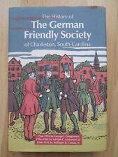 GERMAN FRIENDLY SOCIETY~Charleston~SOUTH CAROLINA~225 Year American History~HCDJ