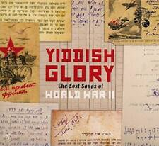 Yiddish Glory - The Lost Songs Of World War II (NEW CD)