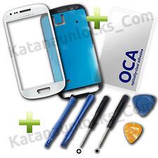 Komplett Set Bildschirm Glas Reparaturen für Samsung Galaxy S3 Mini i8190 Weiß