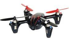 Mini Quadrocopter Hubsan con Fotocamera HD - Nero/rosso