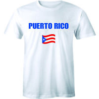 Puerto Rico Puerto Rican Country Flag Nationality Ethnic Pride Tee Men's T-shirt