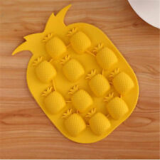 SILICONE ANANAS ICE CUBE Vassoio Frutta Forma Stampo cioccolato Jelly Stampo Freeze