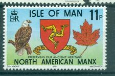 AIGLE & EMBLEM - SEA EAGLE & COAT ISLE OF MAN 1978 North American Manx