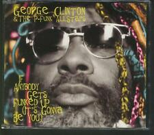 GEORGE CLINTON If Anybody Get's Funked Up It's Gonna Be You 6 TR REMIX CD SINGLE