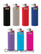 Choose quantity-Big Classic Size  BIC Lighter Assorted Random Color Flint