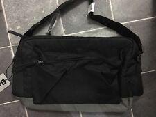 BNWT BENCH Truemixed Cross Body Over Shoulder Black Grey Canvas Uni School Bag