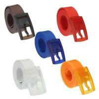 Buckle Waist Belt Strap Ceinture Belts Silicone Belt Casual Belts Waistband