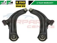 FOR RENAULT CLIO MK3 05- FRONT LEFT RIGHT SUSPENSION WISHBONE TRACK CONTROL ARMS