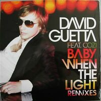 "David Guetta Feat. Cozi 12"" Baby When The Light (Remixes) - Europe"