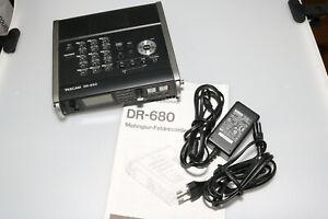 Tascam DR-680 8-Spur Field-Recorder mit Tasche Kaum gebraucht! TOP Zustand!
