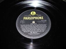 BEATLES abbey road ( rock ) parlophone yellow & black PPCS 7088 uk - VERY RARE -