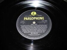 BEATLES abbey road ( rock ) parlophone yellow & black PPCS 7088 uk - VERY RARE -