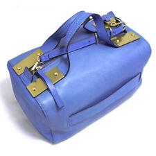 Tory Burch 12159759 Square Satchel Neptune Blue