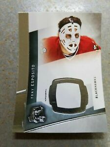 Tony Esposito Chicago Black Hawks 2012-13 Upper Deck The Cup Blank Back or 2011