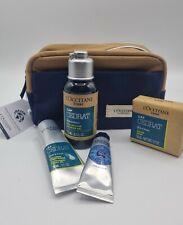Loccitane Cap Cedrat Men's Travel Collection, Soap, Shower Gel, Shave, Handcream