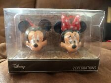 Disney Mickey Mouse And Minnie Mouse Christmas Tree Decoration Bauble Primark