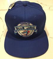 Vintage Toronto Blue Jays Snapback Hat New Era Pro Design Cap MLB Baseball