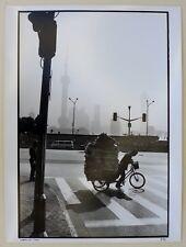 Photo François Dupuy - Shanghaï 2004 - Tirage argentique 30x40 baryté -