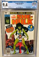 Savage She-Hulk #1 Marvel 1980 CGC 9.4 1st Appearance Origin of She-Hulk