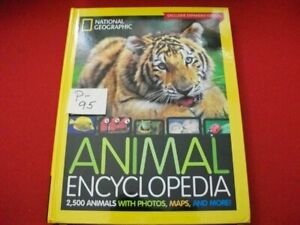 NATIONAL GEOGRAPHIC ANIMAL ENCYCLOPEDIA-2500 ANIMALS W PHOTOS,MAPS DETAILED INFO
