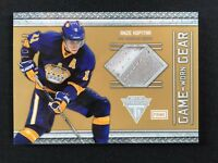 2011-12 PANINI TITANIUM GAME WORN GEAR ANZE KOPITAR PATCH #ed 10/50