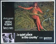 Naked Vanessa Redgrave A Quiet Place in the Country lobby card 3585