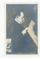 Benito Mussolini del Puttore Monti RPPC Vintage Italian Fascist Photo 1930s