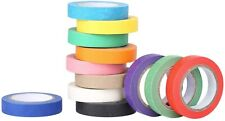 Painters Tape Colored Masking Tape 12 Colors Masking Tape Art Amp Crafts Diy
