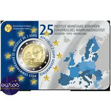 Coincard 2 euros BELGIQUE 2019 - Institut Monétaire Européen - Version Française