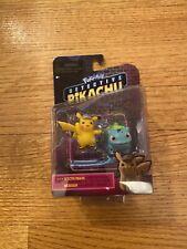 Pokemon Detective Pikachu BULBASAUR & PIKACHU Mini 2-Pack Figures NEW