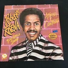 ROBERTO ROENA Y SUS APOLLO SOUND AFUERA Y CONTENTO Latin Salsa 1985 EX