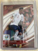 Panini Select Euro 2020 England Jadon Sancho Field Level No.181