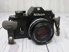 Nikon EM 35mm SLR Film Camera *NEAR MINT* Bundle *FULLY FUNCTIONAL*