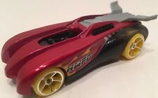 Hot Wheels 2011 HWFD Concept Exclusive Custom Red Yellow Wheels
