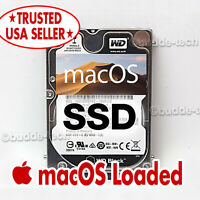 SSD Upgrade for Apple Mac Macbook Pro - 10.15 Catalina Latest OS 2019 - 512GB
