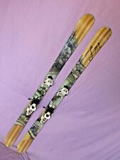 LINE Celebrity 90 women's all mountain skis w/ Marker Griffon 13 DEMO bindings ~